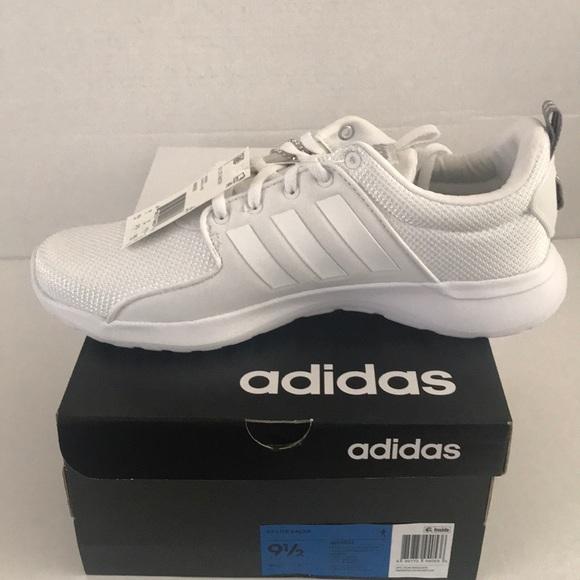 7fdcd4c9ac53 Adidas CF Lite Racer White Running AW4262